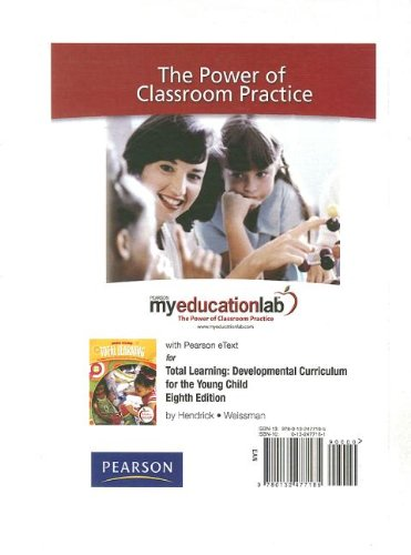 9780132477185: MyEducationLab with Pearson eText Student Access Code Card for Total Learning (standalone)