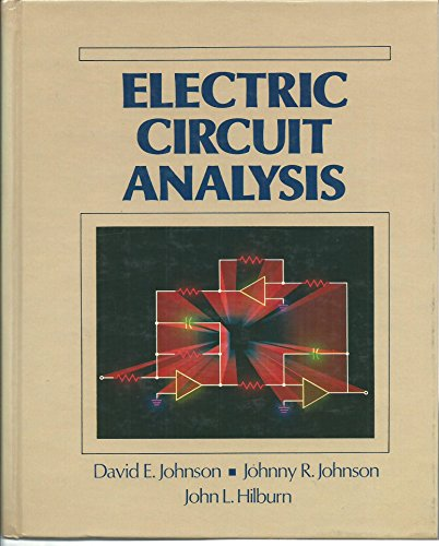 Electric Circuit Analysis: David E. Johnson;
