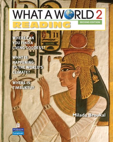 What a World Reading: Book Level 2: Broukal, Milada