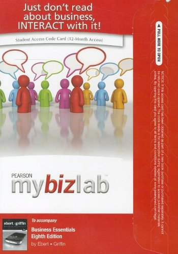9780132478038: MyBizLab with Pearson eText -- Access Card -- for Business Essentials