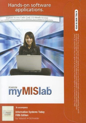 9780132478113: MyMISLab with Pearson eText -- Access Card -- for Information Systems Today