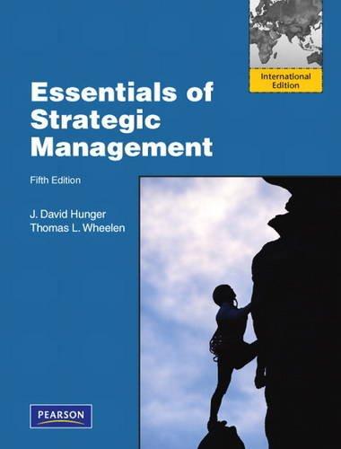 9780132478816: Essentials of Strategic Management