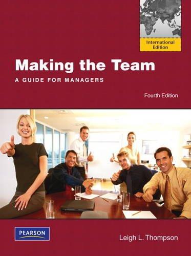 9780132479042: Making the Team: International Edition