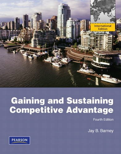 9780132479066: Gaining and Sustaining Competitive Advantage