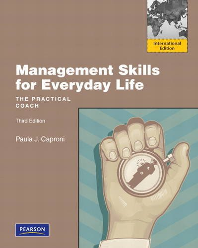 9780132479073: Management Skills for Everyday Life:International Edition