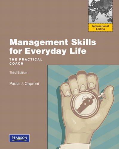 9780132479073: Management Skills for Everyday Life. Paula J. Caproni