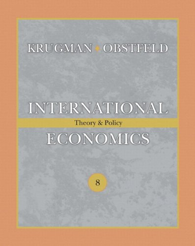 9780132479202: International Economics: Theory & Policy [With Myeconlab] (The Addison-Wesley Series in Economics)