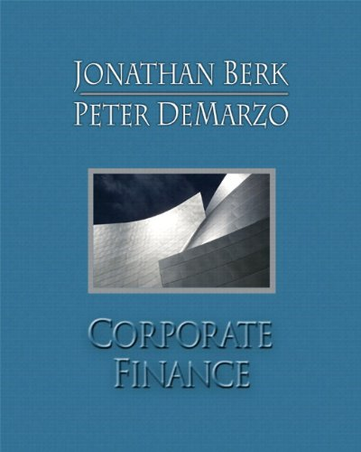 Corporate Finance & MyFinanceLab with Pearson eText Student Access Code Card Package: Berk, ...