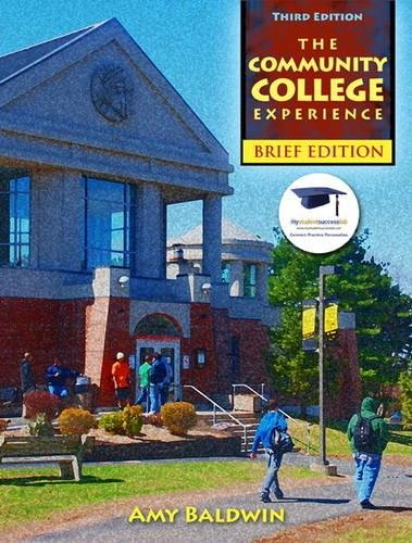 9780132480864: The Community College Experience, Brief Edition (3rd Edition)