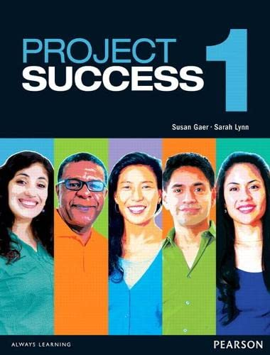 9780132482974: Project Success 1 Student Book with eText