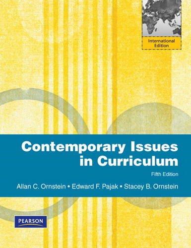 9780132483087: Contemporary Issues in Curriculum