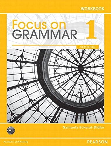 9780132484138: Focus on Grammar 1 Workbook