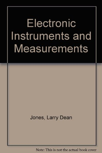 9780132484695: Electronic Instruments and Measurements