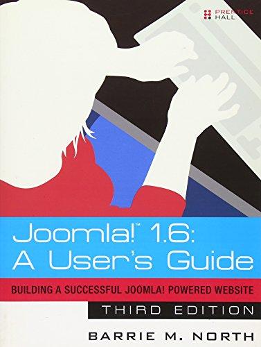 9780132487061: Joomla! 1.6: A User's Guide: Building a Successful Joomla! Powered Website