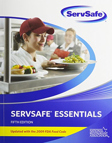 9780132488129: ServSafe Essentials 5th Edition with Online Exam Voucher, Updated with 2009 FDA Food Code with FoodSafetyPrep powered by ServSafe (Access Card) (5th Edition)