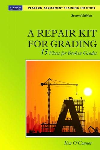 9780132488631: A Repair Kit for Grading: Fifteen Fixes for Broken Grades with DVD (2nd Edition) (Assessment Training Institute, Inc.)