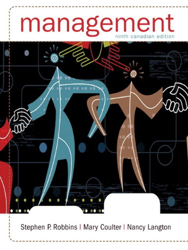 Management, Ninth Canadian Edition with MyManagementLab (9th: Robbins, Stephen P.