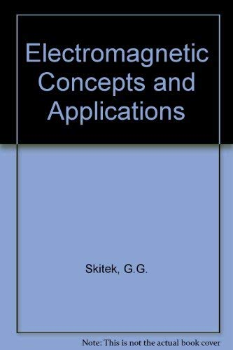 9780132490047: Electromagnetic Concepts and Applications
