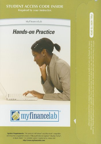 9780132491037: Corporate Finance Hands-On Practice Student Access Code: An Introduction (MyFinanceLab (Access Codes))