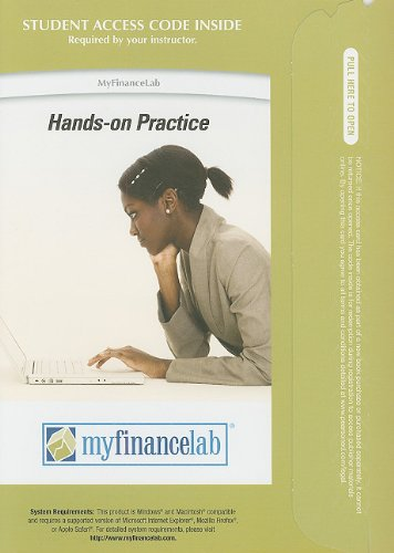 9780132491082: MyFinanceLab with Pearson eText -- Access Card -- for Fundamentals of Investing (MyFinanceLab (Access Codes))