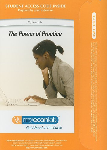 9780132491129: MyEconLab with Pearson eText -- Access Card -- for Macroeconomics: Principles, Applications and Tools (MyEconLab (Access Codes))