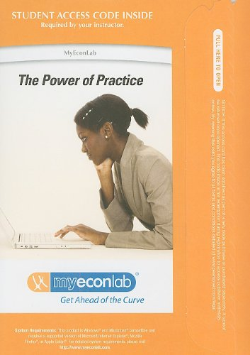 9780132491327: Myeconlab with Pearson Etext Student Access Code Card for Principles of Microeconomics