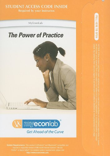 9780132491341: MyEconLab with Pearson eText -- Access Card -- for Macroeconomics (MyEconLab (Access Codes))