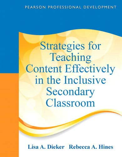 9780132491846: Strategies for Teaching Content Effectively in the Inclusive Secondary Classroom (Pearson Professional Development)