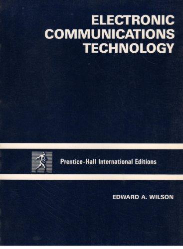 9780132492027: Electronic Communications Technology