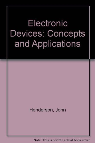 9780132492102: Electronic Devices: Concepts and Applications