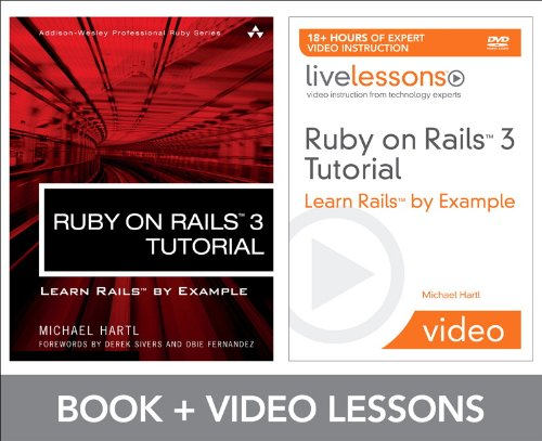 9780132492546: Ruby on Rails 3 Tutorial LiveLessons Bundle: Learn Rails by Example