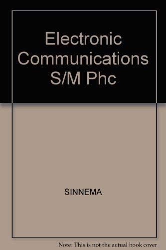 9780132493437: Electronic Communications