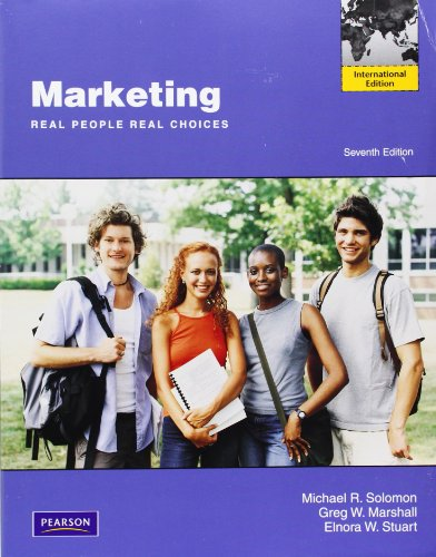 Marketing: Real People, Real Choices: International Edition: Michael R. Solomon,