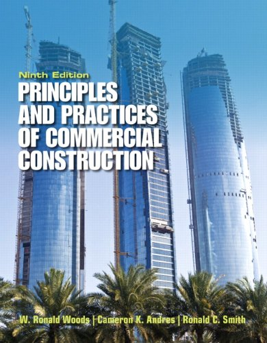 9780132495011: Principles & Practices of Commercial Construction (9th Edition)