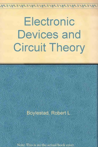 9780132495172: Electronic Devices and Circuit Theory