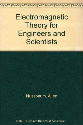 9780132496230: Electromagnetic Theory for Engineers and Scientists