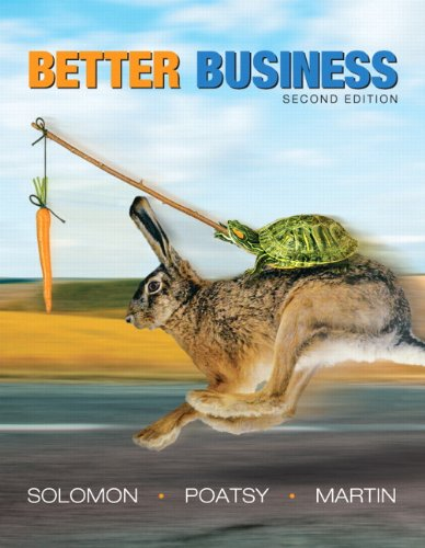 9780132496698: Better Business:United States Edition