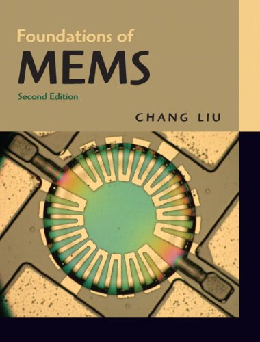9780132497367: Foundations of MEMS (2nd Edition)