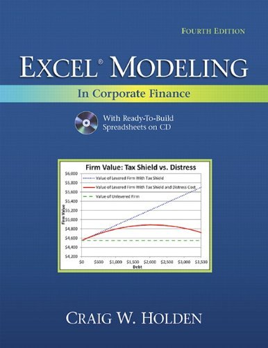 9780132497848: Excel Modeling in Corporate Finance (4th Edition) (The Prentice Hall Series in Finance)