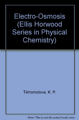 9780132498067: Electro-Osmosis (Ellis Horwood Series in Physical Chemistry)