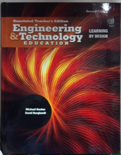 9780132498579: Engineering & Technology Education Annotated Teacher's Edition