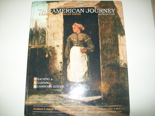 9780132498678: The American Journey: A History of the United States