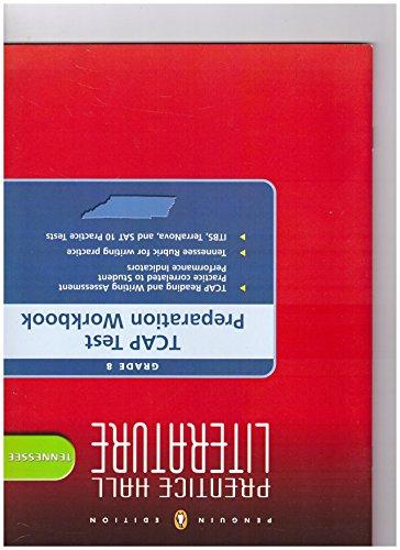 9780132500333: Tennessee TCAP Test Preparation Workbook - Grade 8 (Penguin Edition, Prentice Hall Literature)