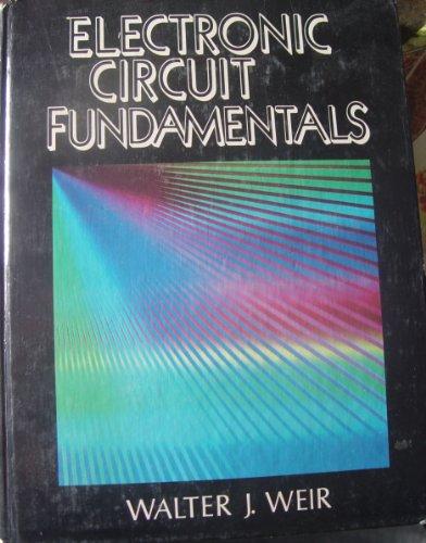 9780132500364: Electronic Circuit Fundamentals