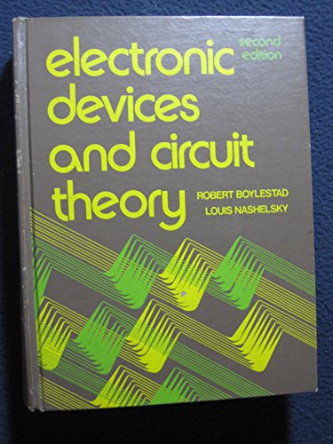 9780132503402: Electronic Devices and Circuit Theory