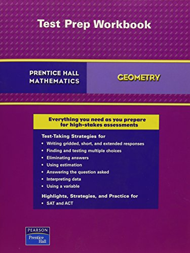 9780132503433: PRENTICE HALL MATH 2007 TEST PREPARATION GEOMETRY
