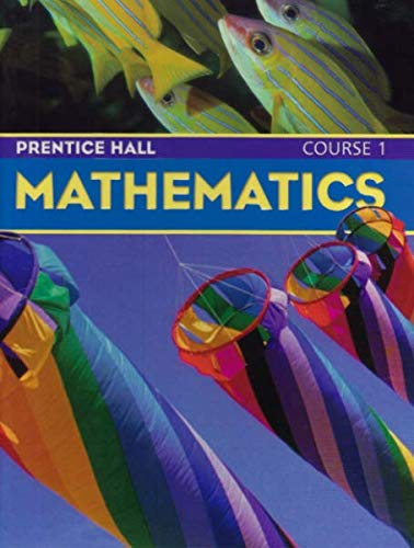 9780132503464: Prentice Hall Mathematics Course 1