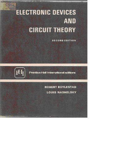 9780132503655: Electronic Devices and Circuit Theory