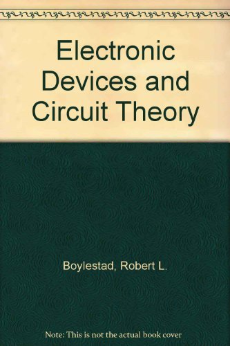9780132503730: Electronic Devices and Circuit Theory
