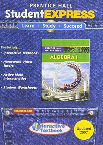 9780132504683: Prentice Hall Mathematics, Algebra 1: StudentEXPRESS